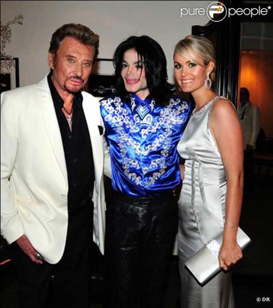 En quelle année Michael Jackson a connu Johnny Hallyday ?