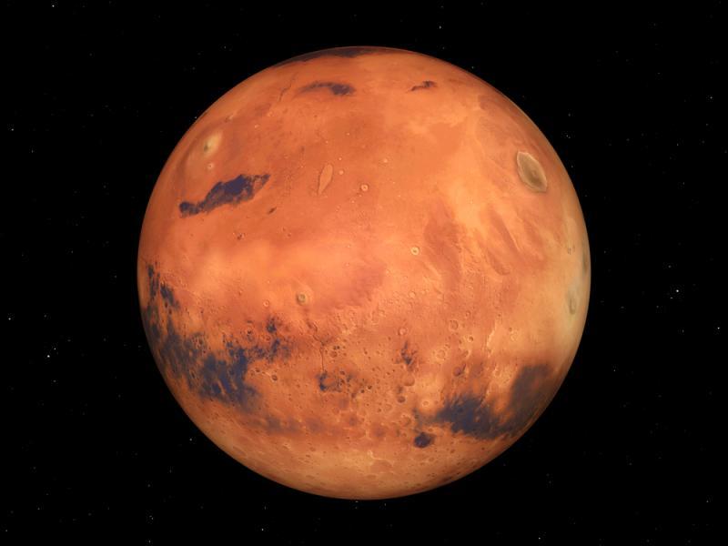 Chacune de ces planètes, à part la terre, porte le nom romain d'une divinité grecque. Laquelle correspond à Mars ?