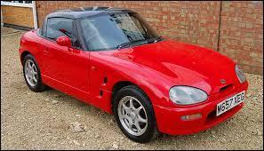 Ce petit cabriolet porte le nom original de Cappuccino. Produit de 1991 à 1997, il était un modèle de la marque ...
