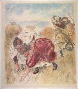 Qui a peint  Enfants jouant à la balle  ?
