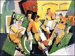 Qui a peint  Les footballeurs  ?