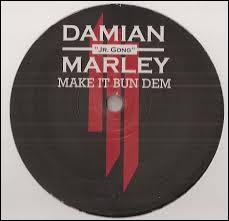 Quel est le nom de la chanson faite avec Damian Marley ?