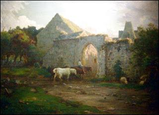 """Qui a peint """"La ferme du Tourp"""" ?"""