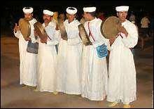 La musique berbère est très écoutée au Maroc :
