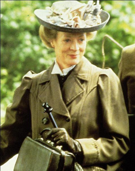 De quel film cette image de Maggie Smith est-elle tirée ?