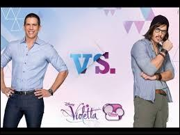 Le père de Violetta va se faire passer pour un professeur ; quel nom va-t-il utiliser ?