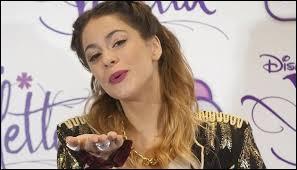Qui est l'idole de Violetta ?