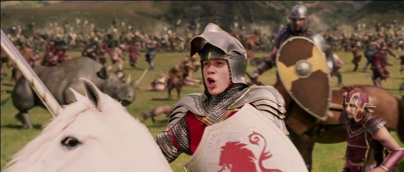 Au moment de la bataille finale que crie Peter ?