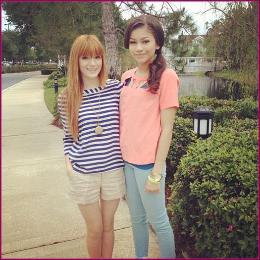 Dans quel téléfilm de Disney Channel ont-elles toutes les deux joué ?
