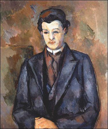 Quel est ce jeune homme rencontré par Cézanne à Marlotte où il vivait en 1889, peintre norvégien dont il fit le portrait ?