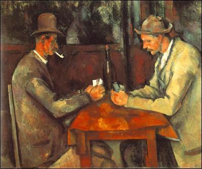 Combien de versions des joueurs de cartes Cézanne a-t-il réalisées ?