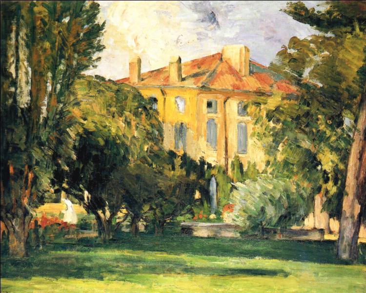 Dans quelle demeure d'Aix en Provence réside la famille Cézanne dont l'artiste a peint de nombreuses toiles ?