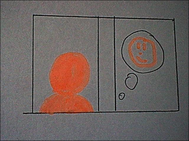 Lorsque ce symbole s'affiche sur la fenêtre d'un habitant, c'est qu'il...