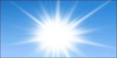 Quelle est la couleur du soleil ?