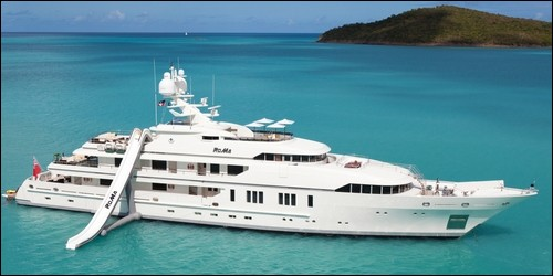 Ce bateau de luxe est :