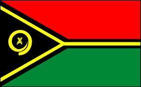 Le Timor-Oriental est représenté par ce drapeau.