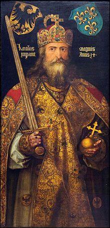 Comment se nomme ce roi qui était au pouvoir de 768 à 814 ?
