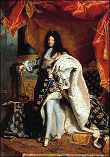 """Quel est le nom de ce roi de France, appelé, le """"Roi Soleil"""", qui régna de 1643 à 1715 ?"""