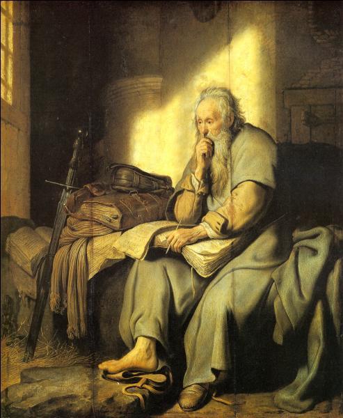 Qui a peint Saint-Paul dans sa prison ?