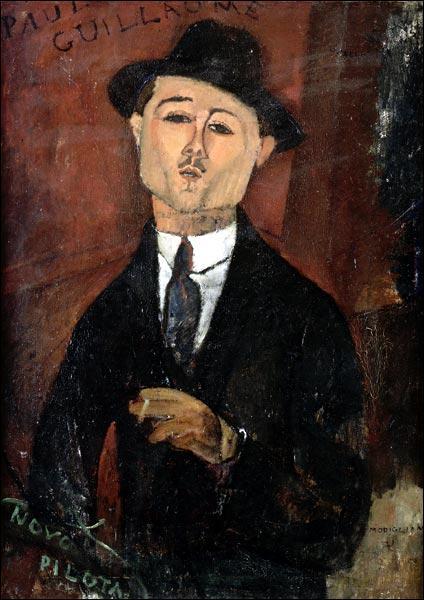 Qui a peint Paul Guillaume ?