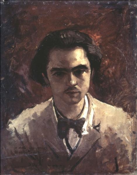 Qui a peint Portrait de Paul Verlaine ?