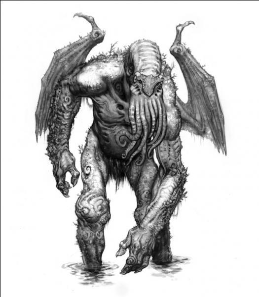 Quelle est cette créature de fiction, imaginée par l'écrivain américain H.P Lovecraft ?