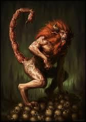 Quelle est cette créature hybride malfaisante ? Elle sera tuée par le héros Bellérophon.