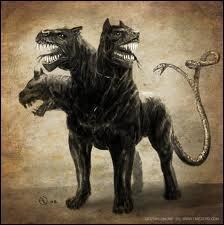 Qui est ce monstre ? Il est couché dans un antre, sur la rive du Styx, et il gardait la porte des Enfers.