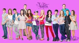 Les personnages de 'Violetta'