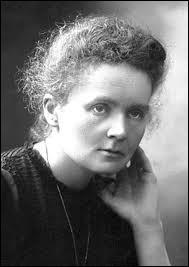 De quelle science Marie Curie a-t-elle obtenu le prix Nobel en 1911 ?
