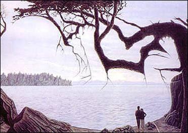 Nous voyons un couple , mais que voyons-nous d'autres ?