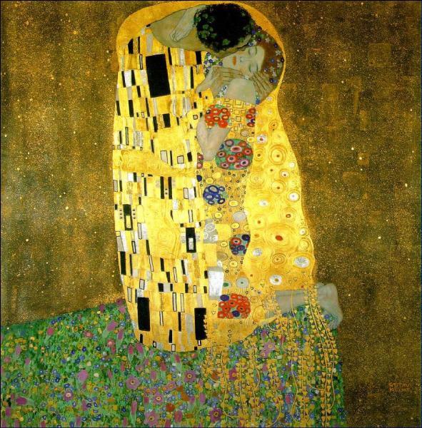 """Quel peintre viennois de style Art nouveau, est l'auteur du tableau """"Le baiser"""" ?"""