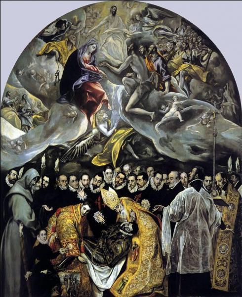"""Quel peintre espagnol est l'auteur de """"L'enterrement du comte d'Orgaz"""" ?"""
