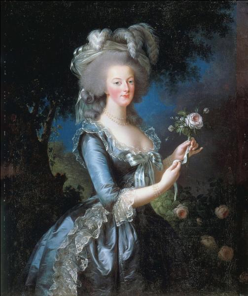 Quelle reine est ici peinte de manière flatteuse par Elisabeth Vigée-Lebrun ?