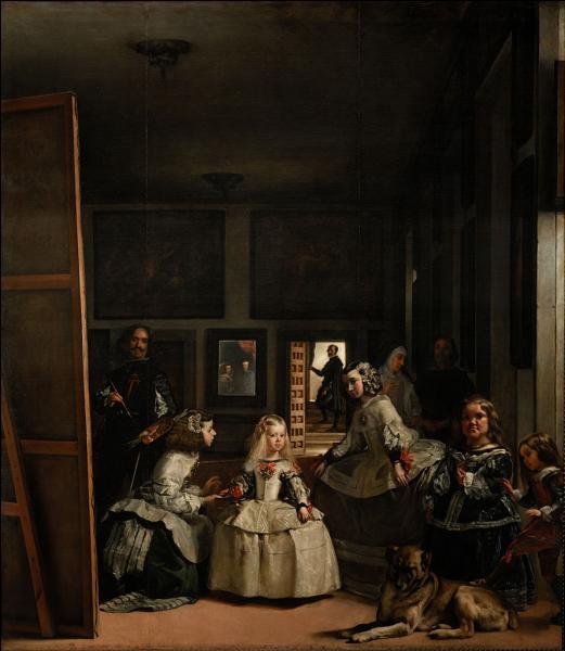 """Qui a peint l'immense tableau """"Les ménines"""", exposé au musée du Prado ?"""