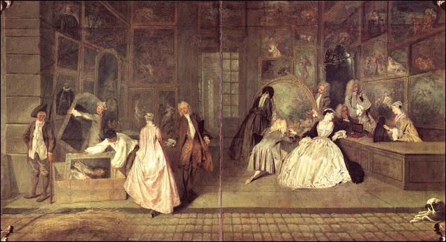 Quel est ce tableau d'Antoine Watteau ?