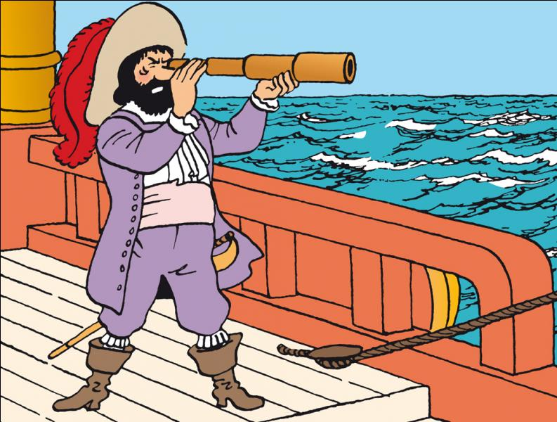Qui est ce capitaine de la marine du roi ?