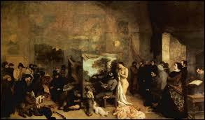 """En 1855 un célèbre peintre a installé un magnifique chat angora à ses pieds dans son tableau 'L'atelier du peintre"""". Allez-vous trouver le nom du peintre ?"""