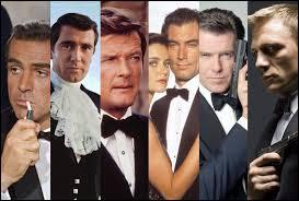 Lequel de ces acteurs a joué le plus de fois le rôle de James Bond au cinéma ?