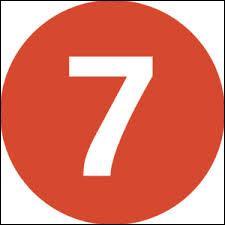 Qu'est-ce qui n'est pas au nombre de sept ?