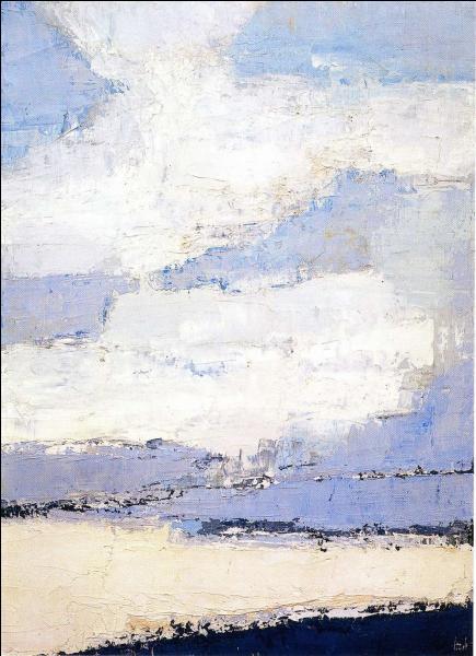 """Qui a peint """"Mer et nuages"""" ?"""