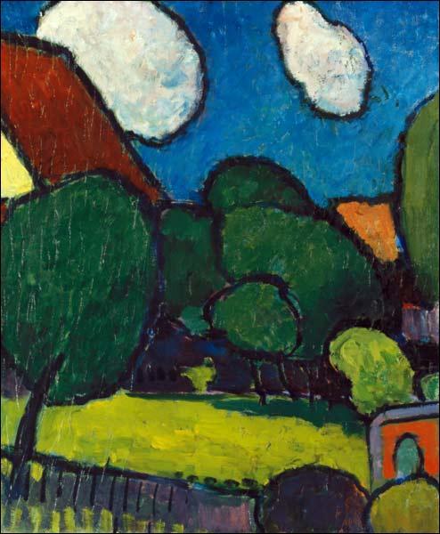 """Qui a peint """"Grands nuages, grands arbres"""" ?"""