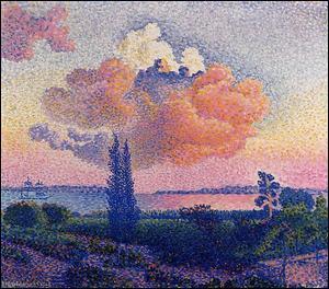 """Qui a peint """"Le nuage rose"""" ?"""