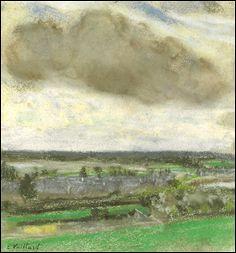 """Qui a peint """"Le nuage brun"""" ?"""