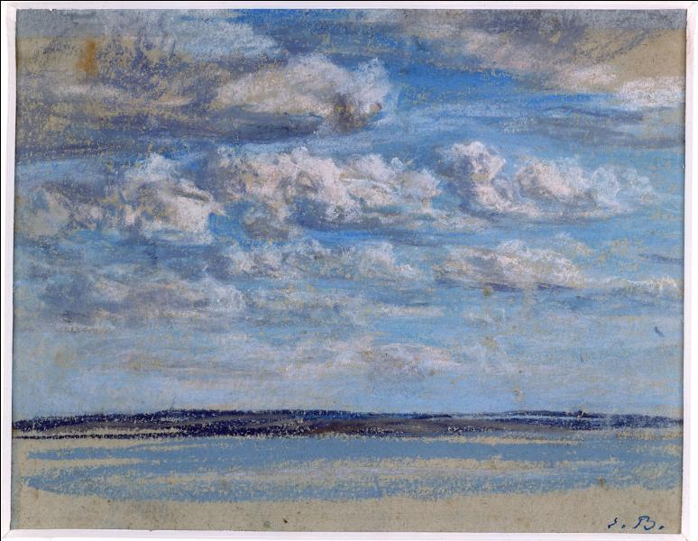 """Qui a peint """"Nuages blancs, ciel bleu"""" ?"""