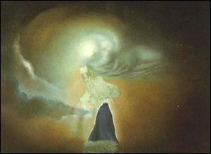 """Qui a peint """"Figure sous la forme d'un nuage"""" ?"""