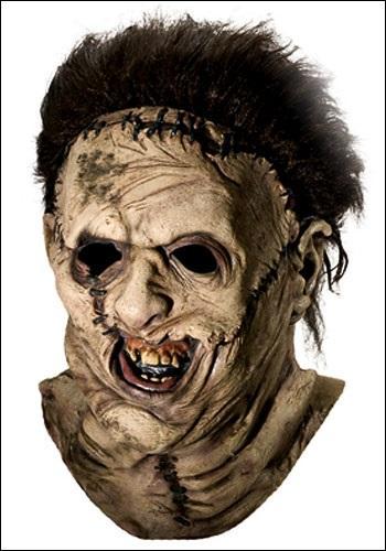 Dans quel film d'horreur Leatherface est-il un méchant psychopathe ?