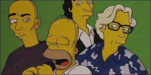 Ils ont joué dans le garage d'Homer transformé en bar. De quel groupe s'agit-il ?