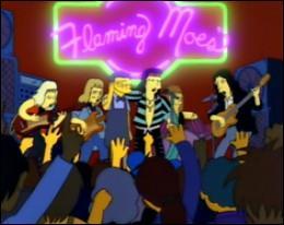 Ils ont joué dans la taverne de Moe après que ce dernier ait volé une recette de bière maison à Homer. De quel groupe s'agit-il ?