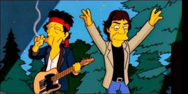 Lors d'un camp de rock, ce groupe propose à Homer de monter sur scène à leur prochain concert, mais cela s'avère plus tard un malentendu. De quel groupe s'agit-il ?